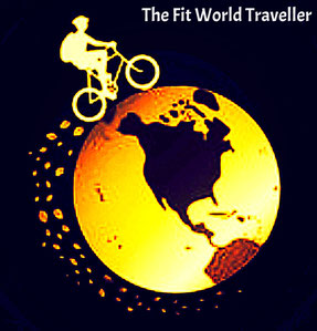the fit world traveller logo